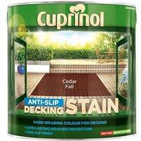 'Cuprinol Anti-slip Decking Stain Cedar Fall 2.5 Litre