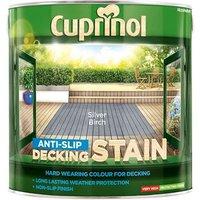 'Cuprinol Anti-slip Decking Stain Silver Birch 2.5 Litre