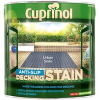 'Cuprinol Anti-slip Decking Stain Urban Slate 2.5 Litre