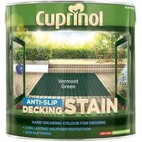 'Cuprinol Anti-slip Decking Stain Vermont Green 2.5 Litre