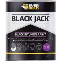 Everbuild Black Jack® 901 Black Bitumen Paint 5 litre
