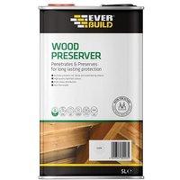 Everbuild Wood Preserver Fir Green 5 litre