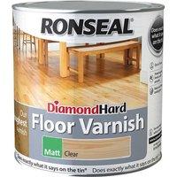 Ronseal Diamond Hard Floor Varnish Matt 2.5 litre