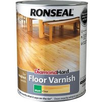 Ronseal Diamond Hard Floor Varnish Matt 5 litre