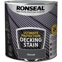 'Ronseal Ultimate Protection Decking Stain Charcoal 2.5 Litre