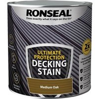 'Ronseal Ultimate Protection Decking Stain Medium Oak 2.5 Litre