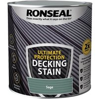 'Ronseal Ultimate Protection Decking Stain Sage 2.5 Litre