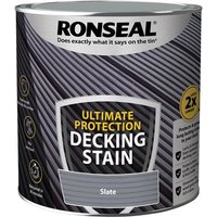 'Ronseal Ultimate Protection Decking Stain Slate 2.5 Litre