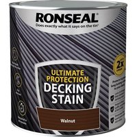 'Ronseal Ultimate Protection Decking Stain Walnut 2.5 Litre