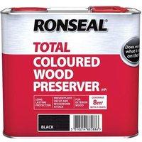 Ronseal Trade Total Wood Preserver Black 2.5 litre