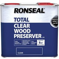 Ronseal Trade Total Wood Preserver Clear 2.5 litre