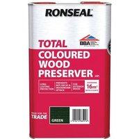 Ronseal Trade Total Wood Preserver Green 5 litre