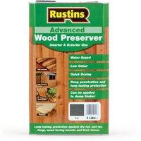Rustins Advanced Wood Preserver Grey 5 litre