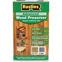 Rustins Advanced Wood Preserver Mid Brown 5 litre