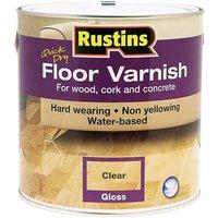 Rustins Quick Dry Floor Varnish Gloss 2.5 litre