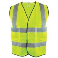 Scan Hi-Vis Yellow Waistcoat - XXL (52in)