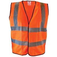 Scan Hi-Vis Orange Waistcoat - M (41in)