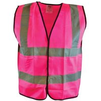 Scan Hi-Vis Pink Waistcoat - L (44in)