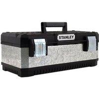 Stanley Tools Galvanised Metal Toolbox 50cm (20in)