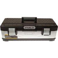 Stanley Tools Galvanised Metal Toolbox 66cm (26in)