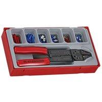 Teng TTCP121 Crimping Tool Set, 121 Piece