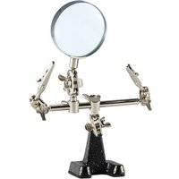 Weller Helping Hands Holder - 2 Arms andamp; Magnifier