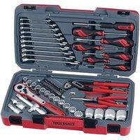 Teng T1268 68 Piece 1/2andquot; Drive Socket Tool Set