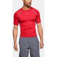 Camiseta de compresión de manga corta UA HeatGear® Armour para hombre
