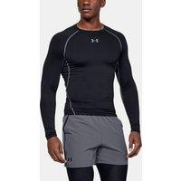 Camiseta de compresión de manga larga UA HeatGear® Armour para hombre