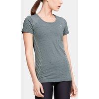 Camiseta de manga corta UA Seamless Melange para mujer