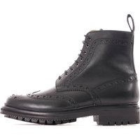 Grenson Fred Black Brogue Boot 5068-450C