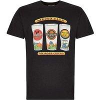 Weird Fish Weird Fish Ciders Printed Artist T-Shirt Black Size M