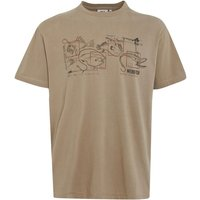 Weird Fish Fishbait Graphic Print T-Shirt Mushroom Size L