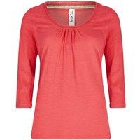 Weird Fish Orbison 3/4 Sleeve Jersey T-Shirt Begonia Pink Size 20