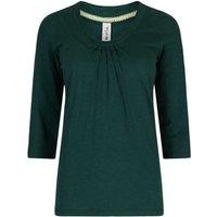 Weird Fish Orbison 3/4 Sleeve Jersey T-Shirt Evergreen Size 10