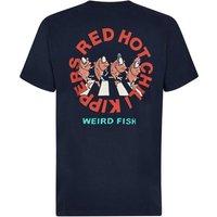 Weird Fish Red Hot Chili Kipper Artist T-Shirt Carbon Size M