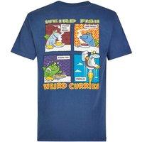 Weird Fish Findaloo Artist T-Shirt Ensign Blue Size XL
