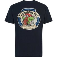 Weird Fish Cod Goblin Artist T-Shirt Carbon Size 3XL