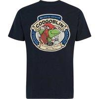 Weird Fish Cod Goblin Artist T-Shirt Carbon Size XL