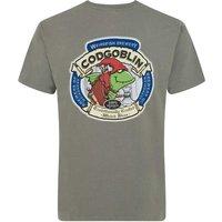Weird Fish Cod Goblin Artist T-Shirt Artichoke Size 4XL