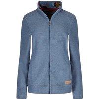 Weird Fish Wilderness Full Zip Classic Macaroni Sweatshirt Airforce Blue Size 16