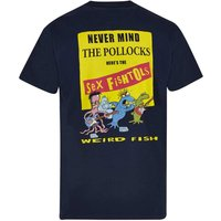 Weird Fish Sex Fishtols Artist T-Shirt Carbon Size XS