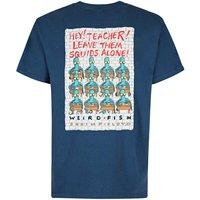 Weird Fish Shrimp Floyd Artist T-Shirt Ensign Blue Size XL