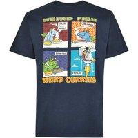 Weird Fish Findaloo Artist T-Shirt Carbon Size 5XL