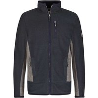 Weird Fish Boyne Fleece Lined Full Zip Active Macaroni Jacket Carbon Size 2XL