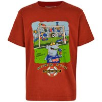 Weird Fish Catch Of The Day Boy's Artist T-Shirt Ketchup Red Size 9-10