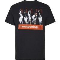 Weird Fish Cranespotting Artist T-Shirt Black Size 2XL