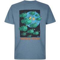 Weird Fish Anglers Artist T-Shirt China Blue Size 3XL