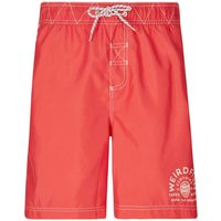 Weird Fish Soundwave Piped Board Short Radical Red Size 36