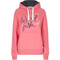Weird Fish Dawn Graphic Print Hoodie Hot Pink Size 8